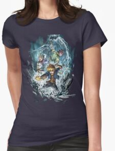 Dark Dawn heroes Womens Fitted T-Shirt