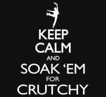 SOAK 'EM FOR CRUTCHY by Brittany Cofer