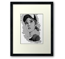 The Walking Dead Season 2- Clementine Framed Print