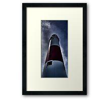 Portland Bill Lighthouse Stands Tall Framed Print