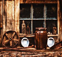 Rust & Wood - Country Photograph by Doreen Erhardt