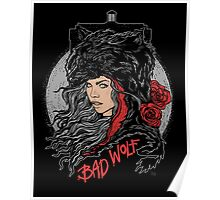 Bad Wolf-Black Poster