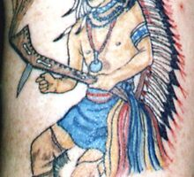 Native American Tattoo by Paddyta2s