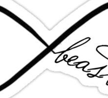 Infinity Beaster Sticker