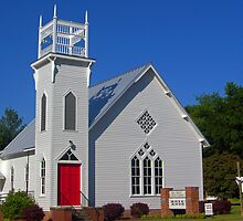 Holy Trinity Lutheran Church by Ellen  Price - Greenwald