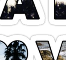 CALI LOVE  Sticker