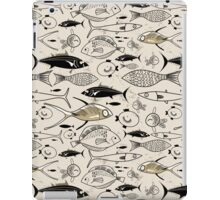 graphic fish iPad Case/Skin