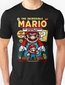 Incredible Mario Unisex T-Shirt