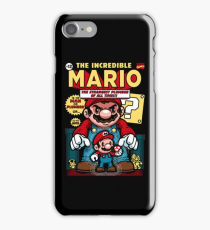 Incredible Mario iPhone Case/Skin