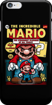 Incredible Mario by harebrained