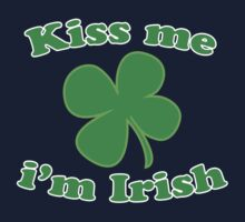 St Patrick's Kiss Me Im Irish Kids Clothes