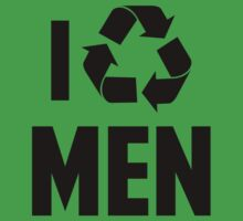 I Recycle Men by BrightDesign