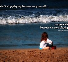 Don't Stop Playing from the Child's Play™ Collection by Doreen Erhardt