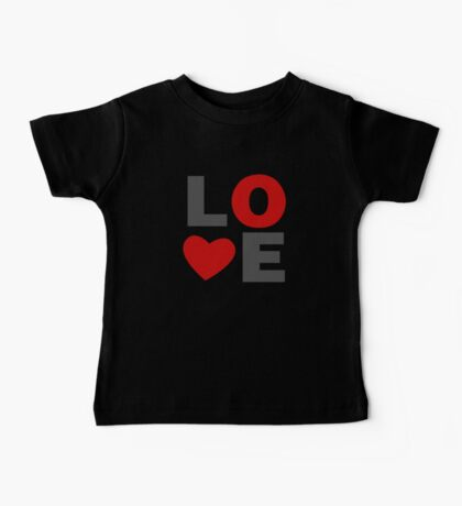 Love Valentines Day Baby Tee
