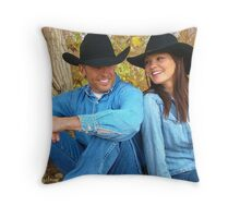 Love Under The Tree Throw Pillow