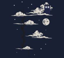 He lives on a cloud in the sky Kids Clothes