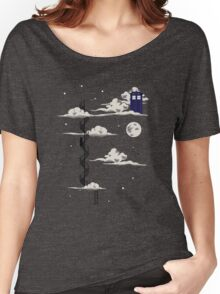 He lives on a cloud in the sky Women's Relaxed Fit T-Shirt