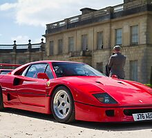 The Ferrari F40 by Gareth Spiller