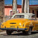 yellow in Cojimar, Cuba by Marzena Grabczynska Lorenc