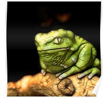 Electric Tree Frog Poster