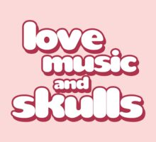 Love Music And Skulls Emo Kids Clothes