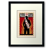 Walk in Time  Framed Print
