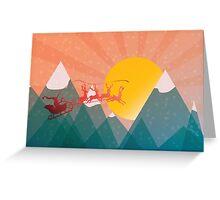 Christmas Joyride Greeting Card