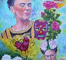 Con el Corazon Roto (Frida) by Jennifer Ingram