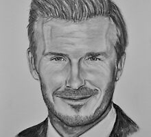 David Beckham by Tricia Winwood