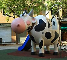Playgroung cow by danielasynner