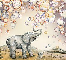 Bubble dreams by Ruta Dumalakaite