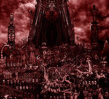 VISION OF HELL (red version) by Milos Trando