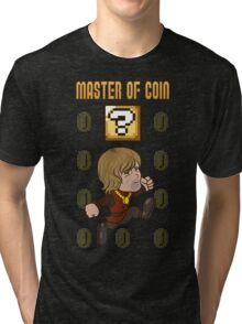 Master of Coin Tri-blend T-Shirt
