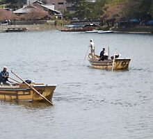 Row Boats in Kyoto by LitanyofCurses