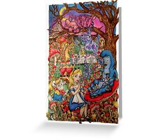 Down the Rabbit Hole Greeting Card