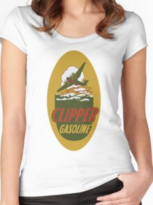 Clipper Gasoline Vintage T-shirt Women's Fitted Scoop T-Shirt
