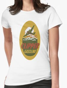 Clipper Gasoline Vintage T-shirt Womens Fitted T-Shirt