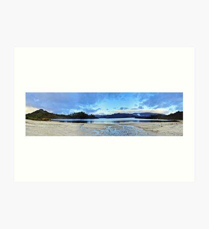 Teds Beach Panorama Art Print