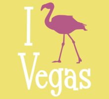 I Love Vegas design for dark apparel Kids Clothes