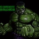 HULK SPEED PAINTING by Wayne Dowsent