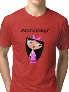 Phineas and Ferb - Isabella Tri-blend T-Shirt