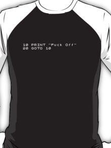 ZX spectrum GOTO 10 T-Shirt