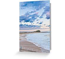 Nobbys Beach - Newcastle Greeting Card