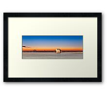 Merewether Baths Sunrise - Newcastle Australia Framed Print