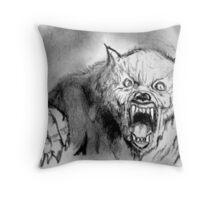It's gonna bite ! Throw Pillow