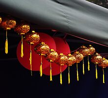 Chinese Paper lanterns by landofy