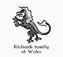 Welsh Heritage: Richards surname Unisex T-Shirt