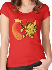Goikachu Women's Fitted Scoop T-Shirt