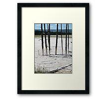 Poles Framed Print