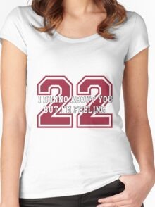 22 Sport Jersey  Women's Fitted Scoop T-Shirt